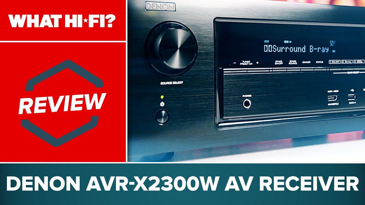Denon AVR-X2300W review   What Hi-Fi?