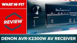 denon AVR-X2300W Unboxing