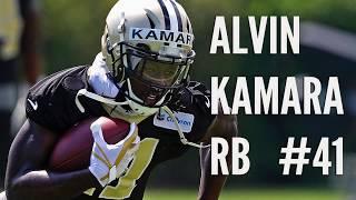 Alvin Kamara raw footage from Saints minicamp