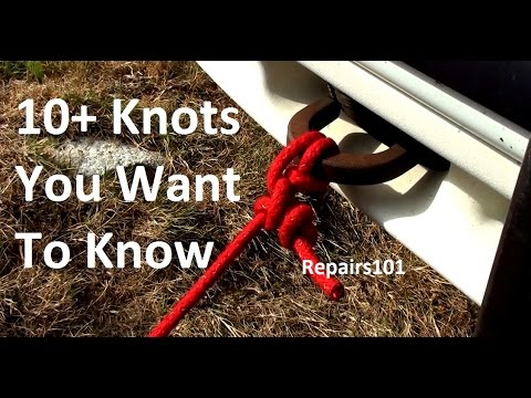10+ Knots You Want To Know