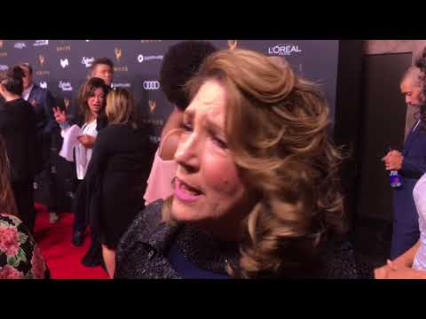Ann Dowd ('The Handmaid's Tale') interview on red carpet at 2017 Emmys Performers Reception