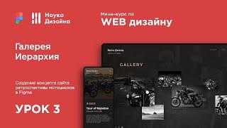 Мини-курс «Web Design 2. Figma». Урок 3. Иерархия и галерея