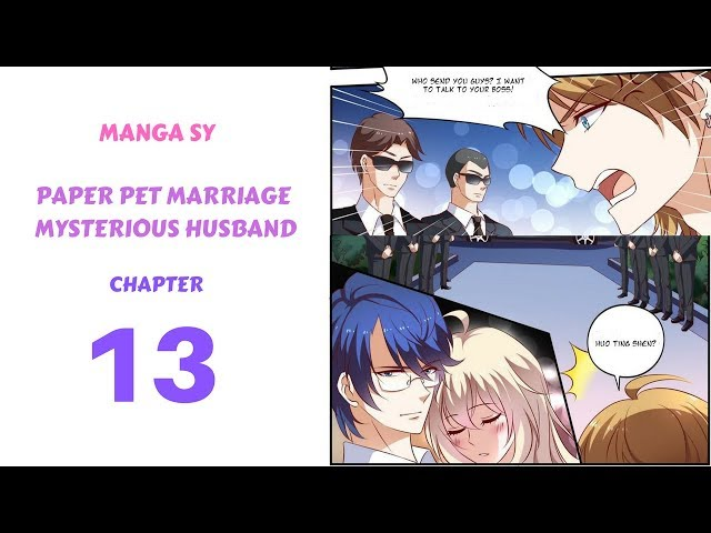 Paper Pet Marriage Mysterious Husband Chapter 13-Buy Drunk