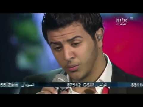 Arab Idol - Ep23 -(У парня погибла девушка,и он поет для нее с переводом )
