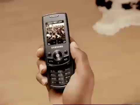 samsung l700 advert 2006-2007
