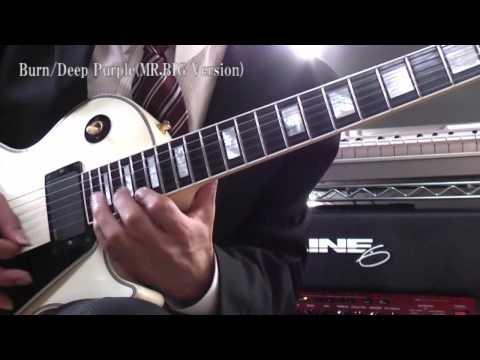 Burn / Deep Purple MR.BIG の超絶ギターソロを弾いてみた
