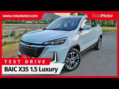 BAIC X35 1.5 Luxury 2021 - ¿Siguen mejorando cada día los SUV chinos compactos? Una muestra de BAIC