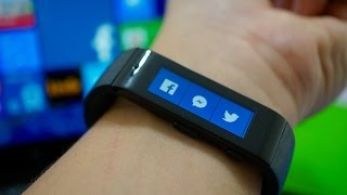 Microsoft Band: an afternoon with Windows Phone