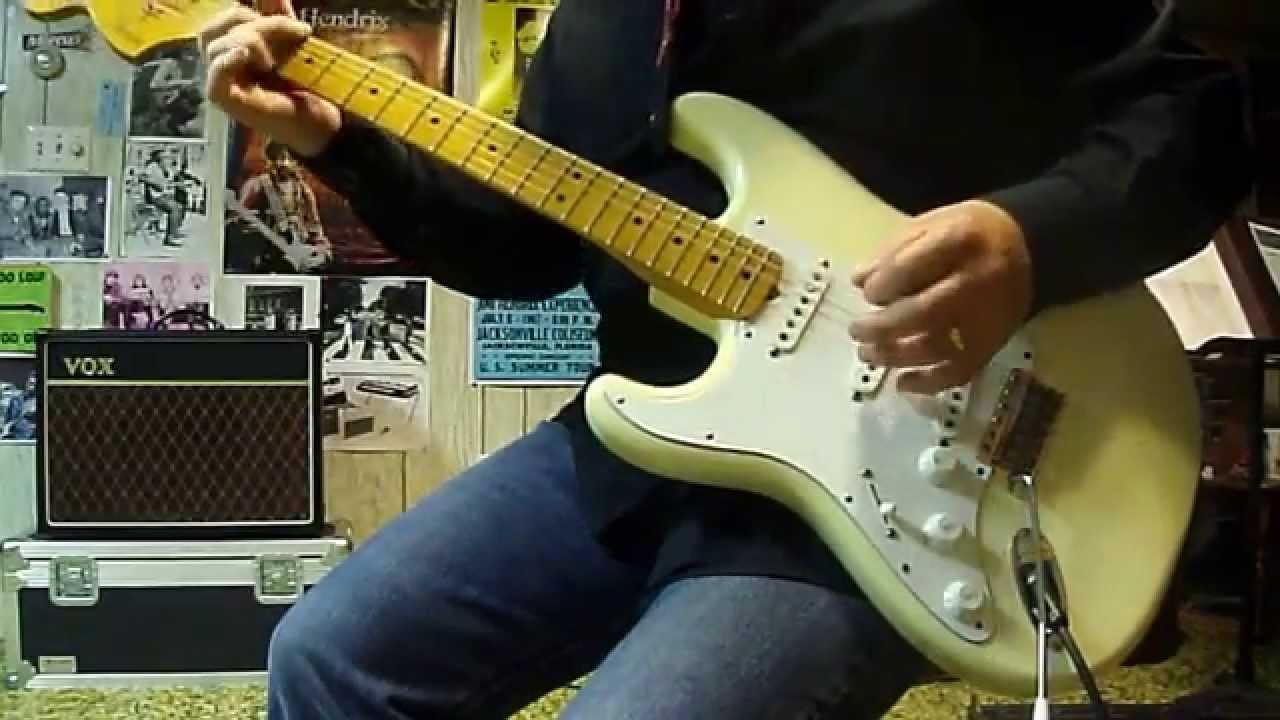 Vox AC15C1 - Fender Stratocaster  68 Reissue - YouTube ed118a53da