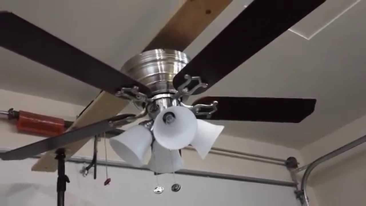 52 Quot Hampton Bay Carriage House Ii Ceiling Fan Youtube