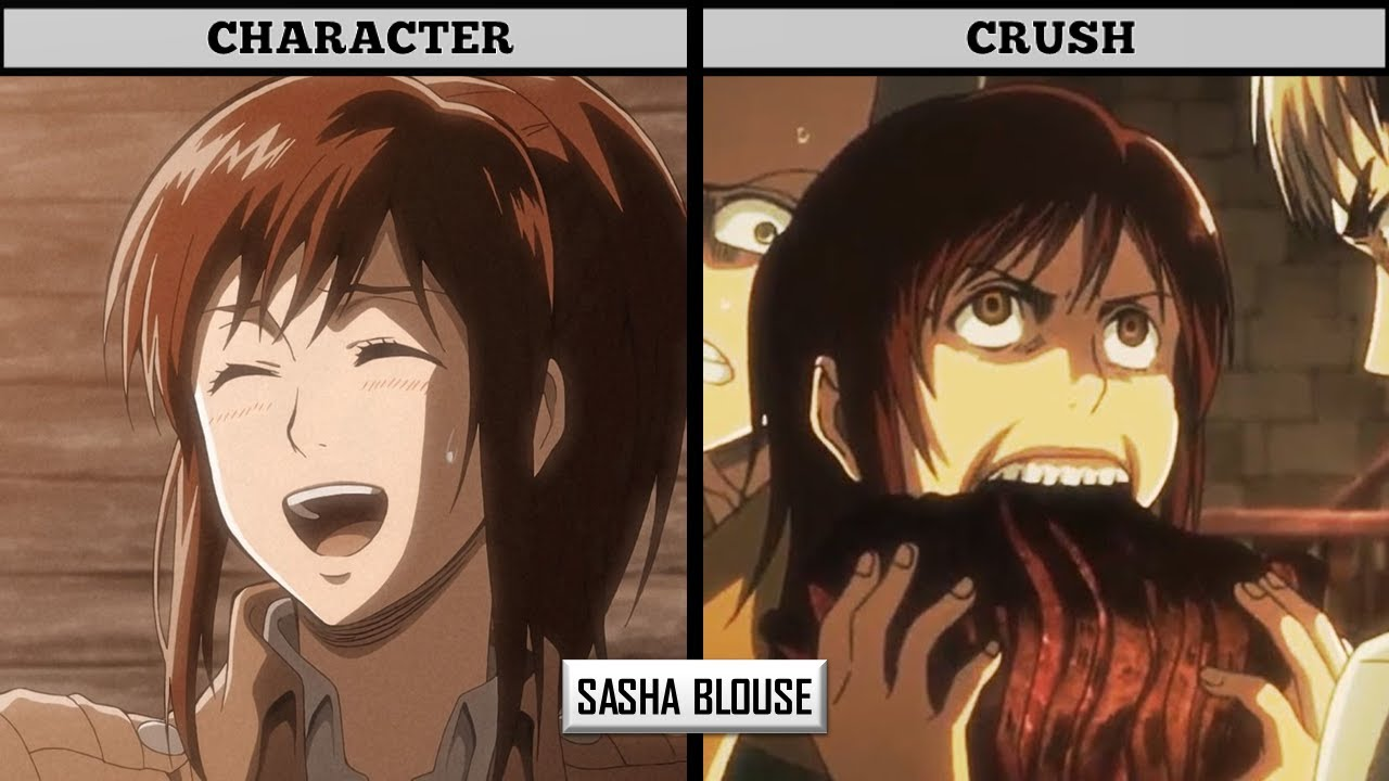 Download ATTACK ON TITAN CHARACTERS AND THEIR CRUSHES