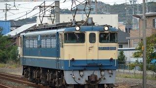 EF65-2121原色〈単9088レ〉 二川駅1番線