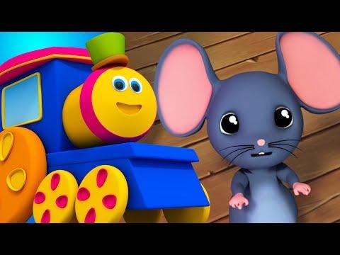 Bob der Zug | Hickory Dickory Dock | Kinderreime | Bob Train Rhymes | Baby Videos | Children Rhymes Mp3