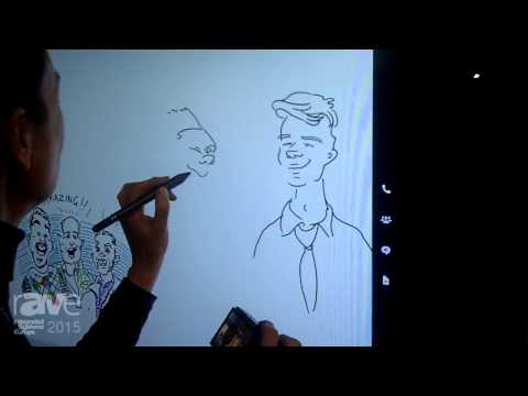 ISE 2015: Microsoft Demonstrates the Microsoft Surface Hub Fluid Pen Experience