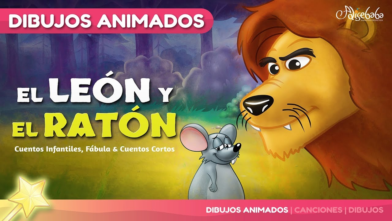 El León y el Ratón | Cuentos infantiles en Español