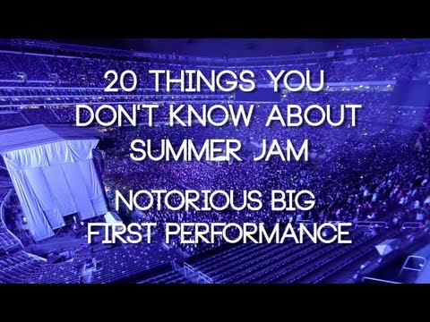 What year did Biggie first perform at Summer Jam?