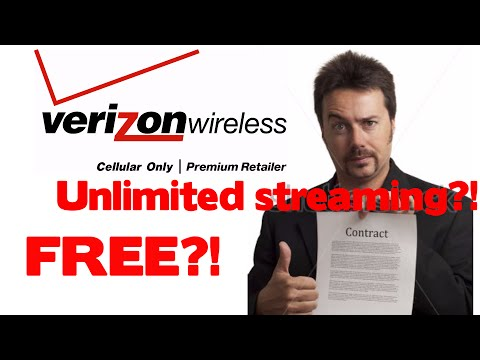 Stream Videos and Music on Verizon without using data | 100% free and legal
