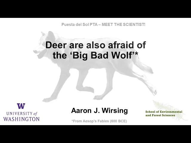 Grow Your Mind: Meet the Scientist! Aaron J. Wirsing