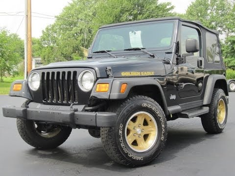 2006 Jeep Wrangler GOLDEN EAGLE 4.0L 6-SPEED 4X4 SOLD!!!