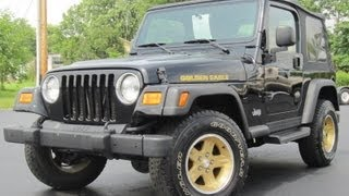 2006 Jeep Wrangler GOLDEN EAGLE 4 0L 6 SPEED 4X4 SOLD!!!