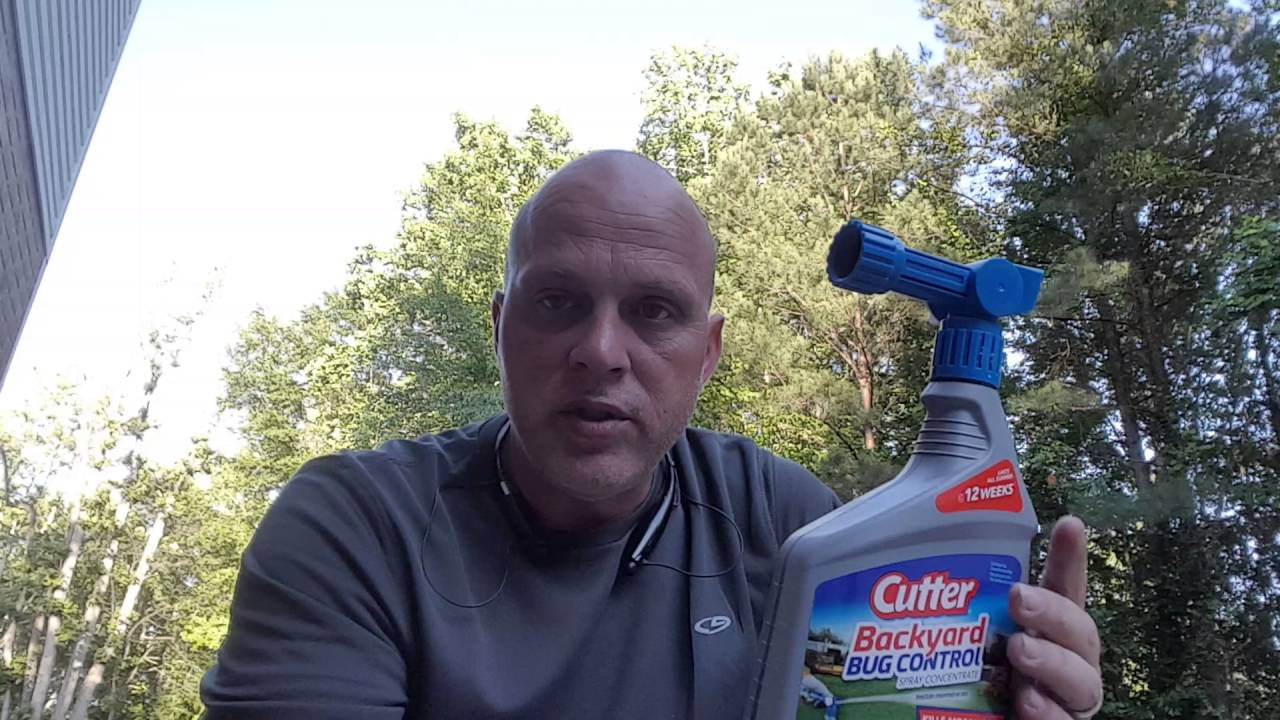 mosquito control spray cutter backyard bug control youtube