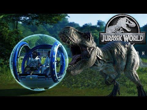 JURASSIC WORLD EVOLUTION #17 : La station de gyrosphères