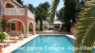 Location villa Espagne 8 personnes