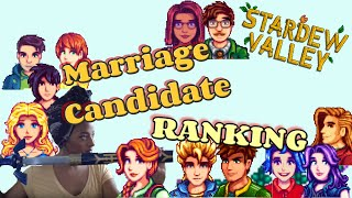 I NEED TO GET MARRIED!: Stardew Valley Marriage Candidate Ranking
