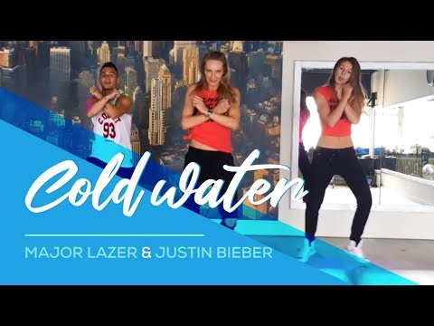 Cold Water - Major Lazer & Justin Bieber - Easy Fitness Dance Choreography