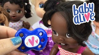 Baby Alive Doll New Mommy Kit Pacifier Testing