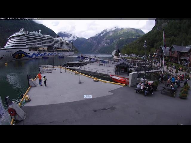 Geirangerfjord cruise port, Geiranger