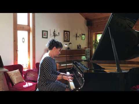Thank You For The Music ABBA  Ulrika A. Rosén, Piano. (Piano Cover)