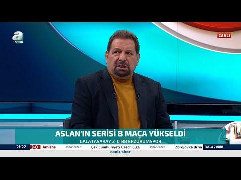 Erman Toroğlu'ndan Galatasaray'ın Galibiyetine Övgüler / Galatasaray 2 - 0 BB Erzurumspor Maç Sonu