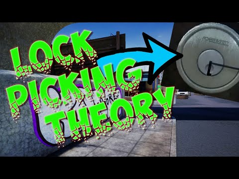 How To Pick A Lock and Theory Since Update (Drug Dealer Simulator)  