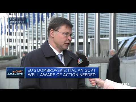EU Commission takes step towards Excessive Deficit Procedure against Italy | Street Signs Europe
