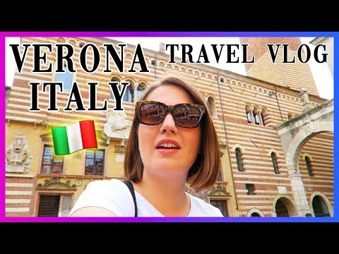 VERONA Italy | Amazing Sights & Food! Travel Vlog