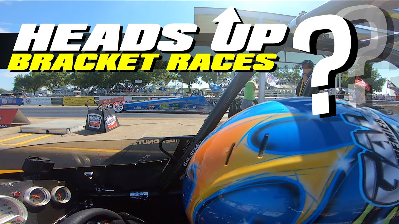 what you SHOULD be doing in HEADS UP races...