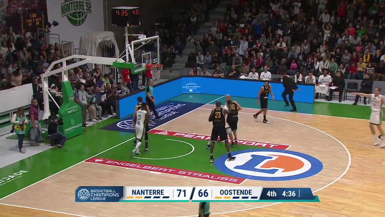 Alade Aminu Highlights vs Oostende