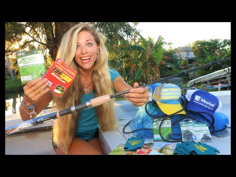 Hump Day Fishing Rod & Tackle Gift Basket GIVEAWAY! Free Stuff
