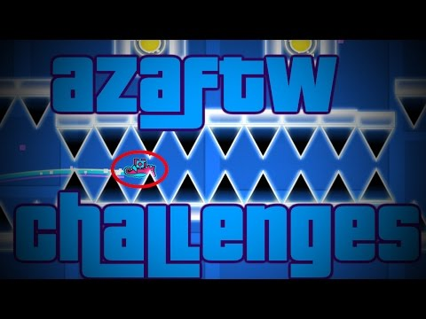 TIGHTEST SPACE EVER ~ Geometry Dash AzaFTW Challenges