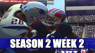 ESPN NFL 2K5 BILLS FRANCHISE VS PATRIOTS (S2W2)