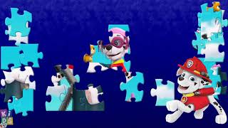 PAW PATROL  ⚡ Chase Skye Rubble ⚡ learn Colors for kids ⚡ Coloring pages ⚡ Paw Patrol Puzzles