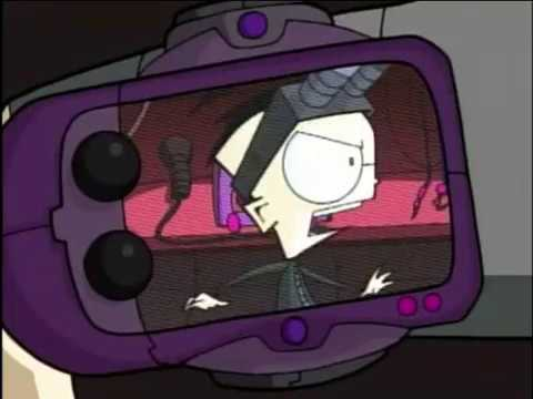 invader zim music video