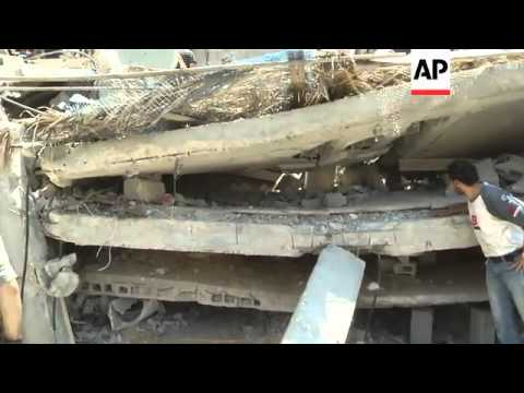 Israeli airstrike hits house in refugee camp, 8-year-old child killed, dozens injured