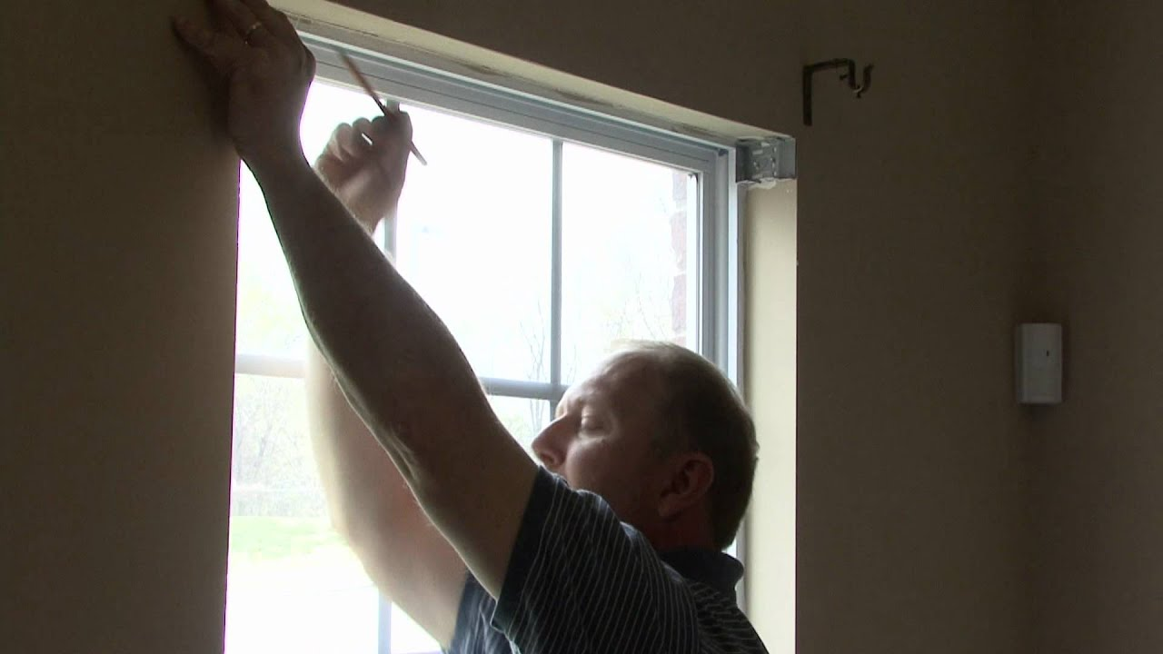 basic home improvements how to install faux wood blinds youtube basic home improvements how to install faux wood blinds