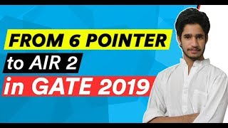 From 6 pointer in IIT to AIR 2 in GATE 2019, Inspiring Journey of Mukesh Poonia | GATE 2019 Topper