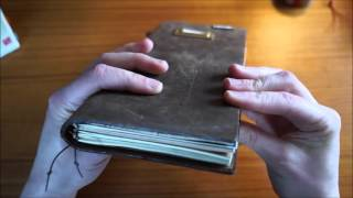 Traveler's Notebook: TOUR | UNBOXING | GENERAL SHENANIGANS(Hi all! Got some new goodies from the Baum-kuchen shop, which I'll share with you here as I explain why I'm using super-slim handmade notebooks instead of ..., 2016-03-21T20:21:23.000Z)