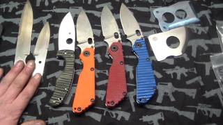 CC Knives, Pimped strider,emerson,spyderco, Anonymous knives