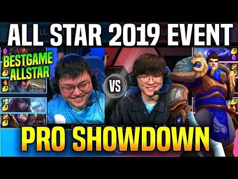 FAKER GAREN vs UZI APHELIOS *BEST GAME IN ALL STARS* ft Doinb Clid Jankos & More All Star 2019 Day 3