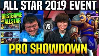 FAKER GAREN vs UZI APHELIOS *BEST GAME IN ALL STARS* ft Doinb Clid Jankos & More All Star 2019 Day 3